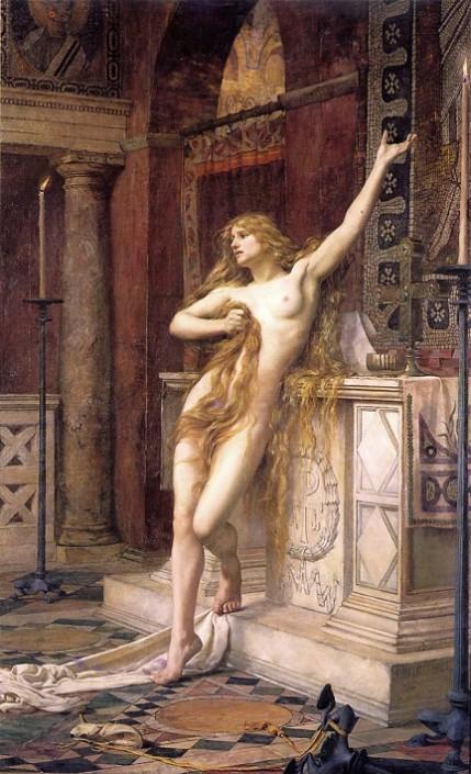 Hipatia-de-Charles-William-Mitchell-1885
